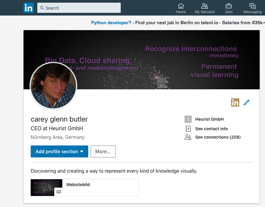 Carey G. Butler on LinkedIn